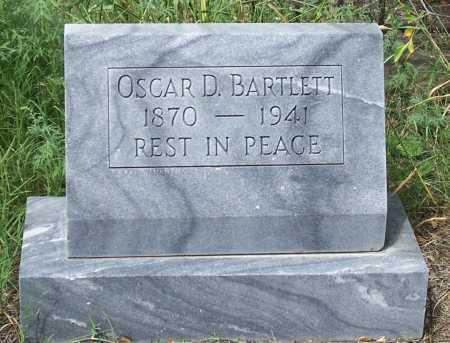 BARTLETT, OSCAR D. - Santa Cruz County, Arizona | OSCAR D. BARTLETT - Arizona Gravestone Photos