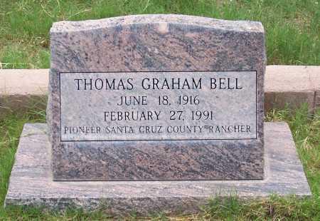 BELL, THOMAS GRAHAM - Santa Cruz County, Arizona   THOMAS GRAHAM BELL - Arizona Gravestone Photos