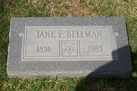 BELLMAN, JANE F. - Santa Cruz County, Arizona | JANE F. BELLMAN - Arizona Gravestone Photos