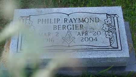 BERGIER, PHILIP RAYMOND - Santa Cruz County, Arizona | PHILIP RAYMOND BERGIER - Arizona Gravestone Photos
