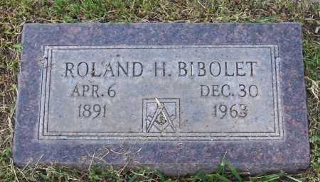 BIBOLET, ROLAND H. - Santa Cruz County, Arizona | ROLAND H. BIBOLET - Arizona Gravestone Photos