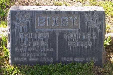 BIXBY, ALPHEUS - Santa Cruz County, Arizona | ALPHEUS BIXBY - Arizona Gravestone Photos