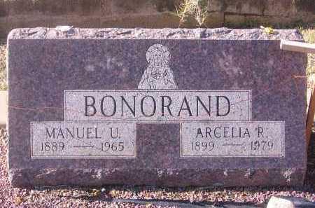 BONORAND, MANUEL - Santa Cruz County, Arizona | MANUEL BONORAND - Arizona Gravestone Photos