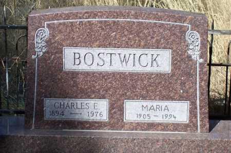 BOSTWICK, CHARLES E. - Santa Cruz County, Arizona | CHARLES E. BOSTWICK - Arizona Gravestone Photos