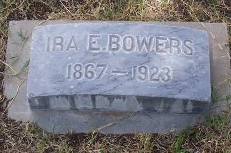 BOWERS, IRA E. - Santa Cruz County, Arizona | IRA E. BOWERS - Arizona Gravestone Photos