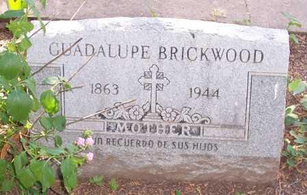 BRICKWOOD, GUADALUPE - Santa Cruz County, Arizona   GUADALUPE BRICKWOOD - Arizona Gravestone Photos
