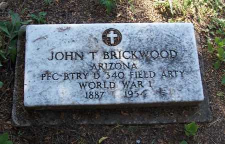 BRICKWOOD, JOHN T. - Santa Cruz County, Arizona | JOHN T. BRICKWOOD - Arizona Gravestone Photos