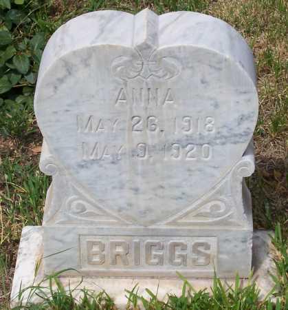 BRIGGS, ANNA - Santa Cruz County, Arizona | ANNA BRIGGS - Arizona Gravestone Photos