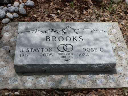 BROOKS, J. STAYTON - Santa Cruz County, Arizona | J. STAYTON BROOKS - Arizona Gravestone Photos