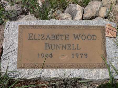 BUNNELL, ELIZABETH - Santa Cruz County, Arizona   ELIZABETH BUNNELL - Arizona Gravestone Photos