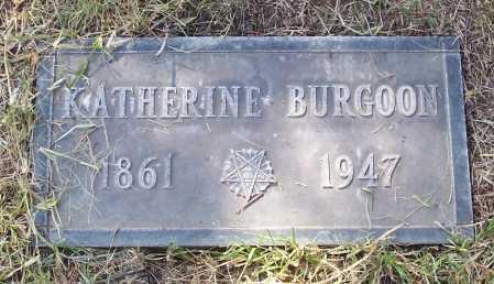 BURGOON, KATHERINE - Santa Cruz County, Arizona   KATHERINE BURGOON - Arizona Gravestone Photos