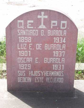 DE BURROLA, LUZ E. - Santa Cruz County, Arizona | LUZ E. DE BURROLA - Arizona Gravestone Photos