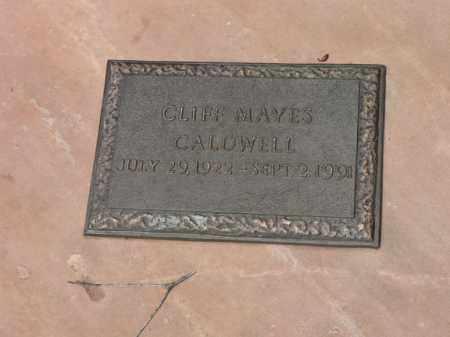 CALDWELL, CLIFF - Santa Cruz County, Arizona   CLIFF CALDWELL - Arizona Gravestone Photos