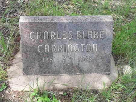 CARRINGTON, CHARLES BLAKE - Santa Cruz County, Arizona   CHARLES BLAKE CARRINGTON - Arizona Gravestone Photos
