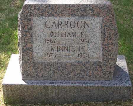 CARROON, WILLIAM E. - Santa Cruz County, Arizona | WILLIAM E. CARROON - Arizona Gravestone Photos