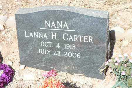 CARTER, LANNA - Santa Cruz County, Arizona | LANNA CARTER - Arizona Gravestone Photos