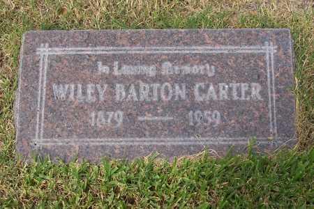 CARTER, WILEY BARTON - Santa Cruz County, Arizona | WILEY BARTON CARTER - Arizona Gravestone Photos