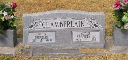 CHAMBERLAIN, NORBERT - Santa Cruz County, Arizona | NORBERT CHAMBERLAIN - Arizona Gravestone Photos