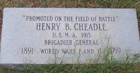 CHEADLE, HENRY B. - Santa Cruz County, Arizona | HENRY B. CHEADLE - Arizona Gravestone Photos