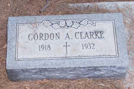 CLARKE, GORDON A. - Santa Cruz County, Arizona   GORDON A. CLARKE - Arizona Gravestone Photos