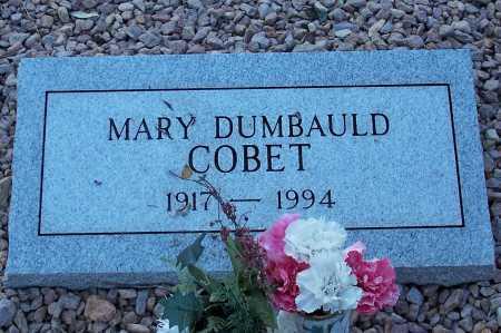 COBET, MARY - Santa Cruz County, Arizona | MARY COBET - Arizona Gravestone Photos