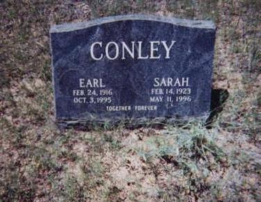 CONLEY, EARL - Santa Cruz County, Arizona | EARL CONLEY - Arizona Gravestone Photos