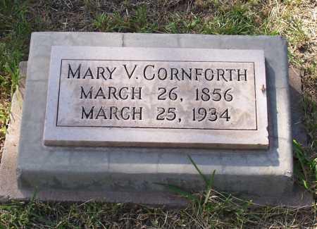 CORNFORTH, MARY V. - Santa Cruz County, Arizona | MARY V. CORNFORTH - Arizona Gravestone Photos