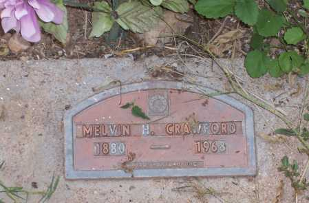 CRAWFORD, MELVIN H. - Santa Cruz County, Arizona | MELVIN H. CRAWFORD - Arizona Gravestone Photos