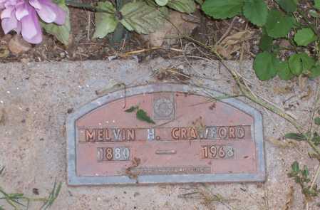 CRAWFORD, MELVIN H. - Santa Cruz County, Arizona   MELVIN H. CRAWFORD - Arizona Gravestone Photos
