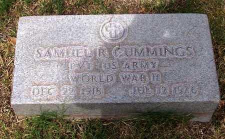 CUMMINGS, SAMUEL R. - Santa Cruz County, Arizona   SAMUEL R. CUMMINGS - Arizona Gravestone Photos