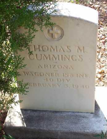 CUMMINGS, THOMAS M. - Santa Cruz County, Arizona | THOMAS M. CUMMINGS - Arizona Gravestone Photos