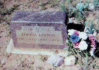 DALTON, LORENA - Santa Cruz County, Arizona | LORENA DALTON - Arizona Gravestone Photos