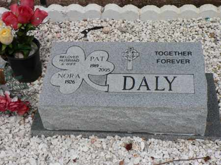 DALY, PATRICK J. - Santa Cruz County, Arizona   PATRICK J. DALY - Arizona Gravestone Photos