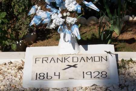 DAMON, FRANK - Santa Cruz County, Arizona | FRANK DAMON - Arizona Gravestone Photos