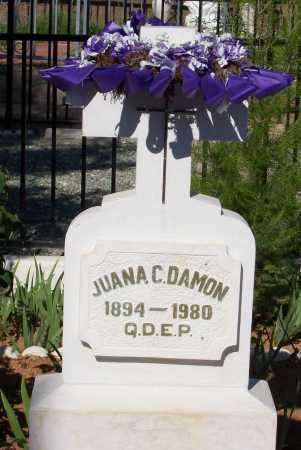 DAMON, JUANA C. - Santa Cruz County, Arizona | JUANA C. DAMON - Arizona Gravestone Photos