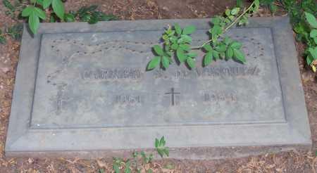 DE VASQUEZ, CARMEN S. - Santa Cruz County, Arizona | CARMEN S. DE VASQUEZ - Arizona Gravestone Photos