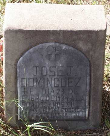 DOMINGUEZ, JOSE T. - Santa Cruz County, Arizona | JOSE T. DOMINGUEZ - Arizona Gravestone Photos