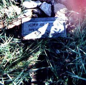 DOTSON, CORY JOE - Santa Cruz County, Arizona   CORY JOE DOTSON - Arizona Gravestone Photos
