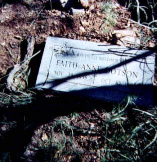 DOTSON, FAITH ANNE - Santa Cruz County, Arizona | FAITH ANNE DOTSON - Arizona Gravestone Photos