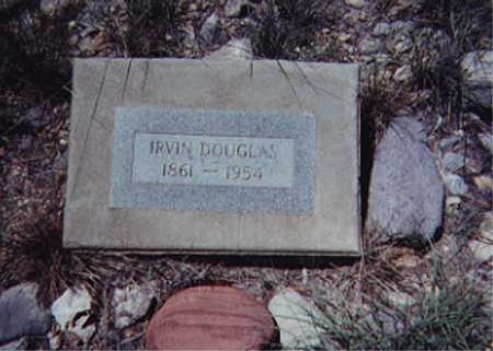 DOUGLAS, IRVIN - Santa Cruz County, Arizona | IRVIN DOUGLAS - Arizona Gravestone Photos