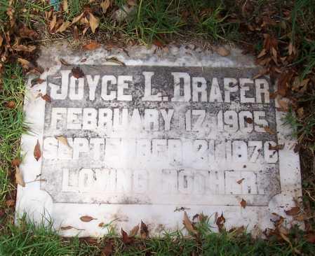 DRAPER, JOYCE L. - Santa Cruz County, Arizona   JOYCE L. DRAPER - Arizona Gravestone Photos