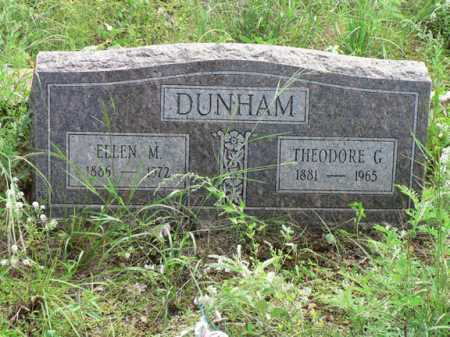 PETERSON DUNHAM, ELLEN M. - Santa Cruz County, Arizona | ELLEN M. PETERSON DUNHAM - Arizona Gravestone Photos