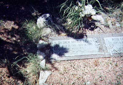 EASON, JACK BRESLEE, DR. - Santa Cruz County, Arizona | JACK BRESLEE, DR. EASON - Arizona Gravestone Photos
