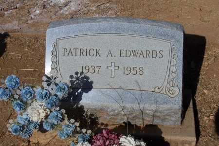 EDWARDS, PATRICK A. - Santa Cruz County, Arizona   PATRICK A. EDWARDS - Arizona Gravestone Photos