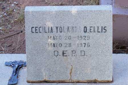 ELLIS, CECILIA YOLANDA O. - Santa Cruz County, Arizona | CECILIA YOLANDA O. ELLIS - Arizona Gravestone Photos