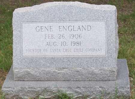 ENGLAND, GENE - Santa Cruz County, Arizona | GENE ENGLAND - Arizona Gravestone Photos
