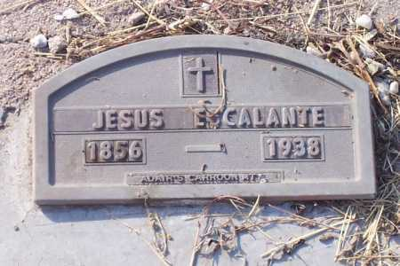 ESCALANTE, JESUS - Santa Cruz County, Arizona | JESUS ESCALANTE - Arizona Gravestone Photos