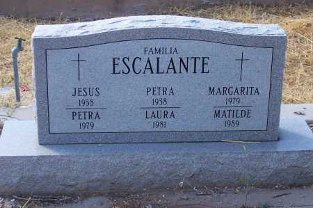 ESCALANTE, PETRA - Santa Cruz County, Arizona | PETRA ESCALANTE - Arizona Gravestone Photos