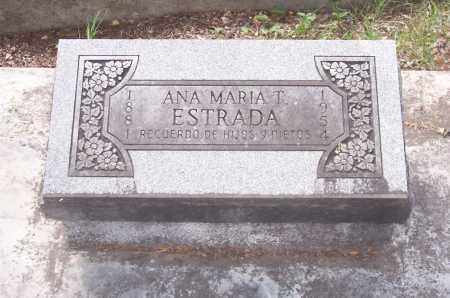 ESTRADA, ANA MARIA T. - Santa Cruz County, Arizona | ANA MARIA T. ESTRADA - Arizona Gravestone Photos