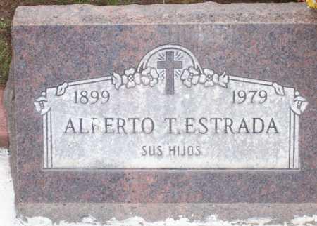 ESTRADA, ALBERTO T. - Santa Cruz County, Arizona | ALBERTO T. ESTRADA - Arizona Gravestone Photos